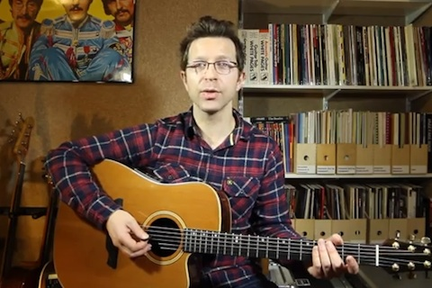 How to learn the notes on the guitar video thumbnail - Cliff Smith Guitar Lessons London