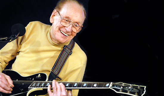 Legendary guitarist Les Paul in concert - Cliff Smith Guitar Lessons